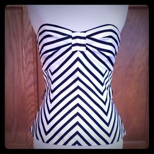 Black and White bustier